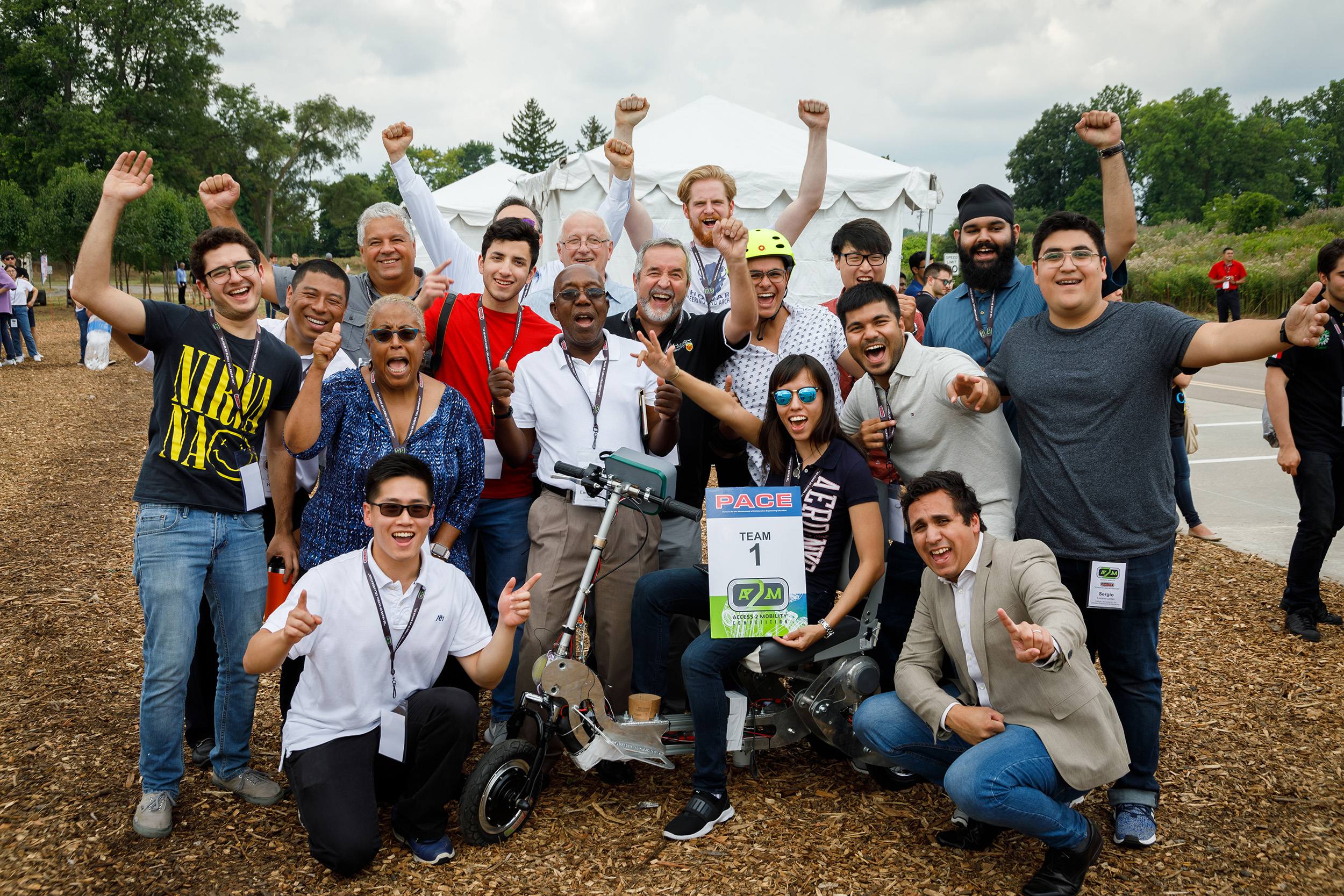 International student team wins prestigious automotive engineering design award