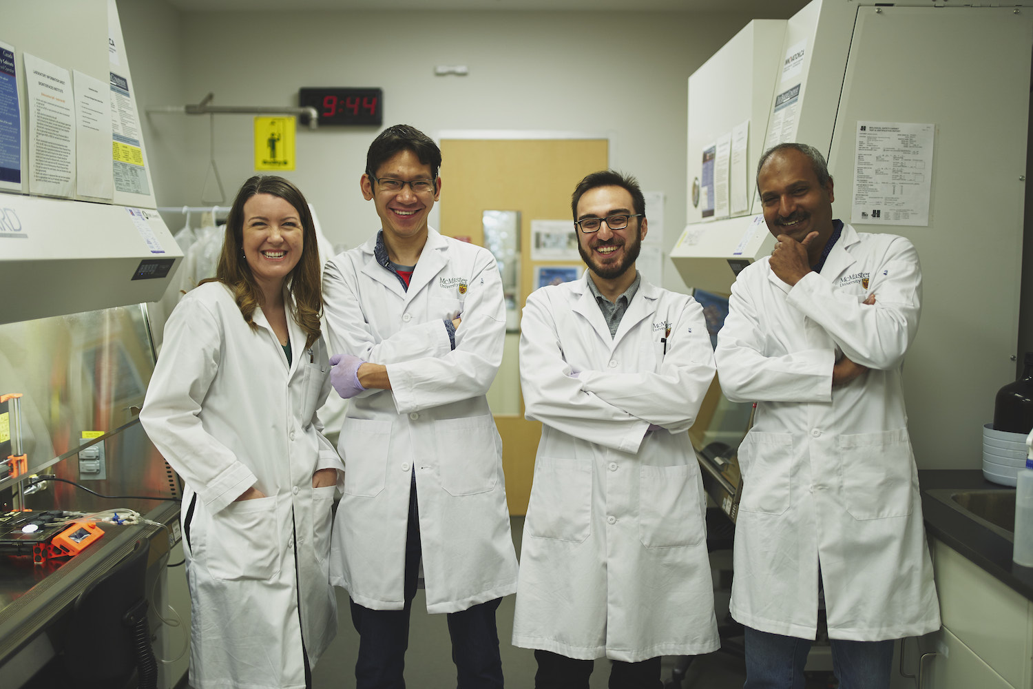 Student collaboration results in new technique for bone research