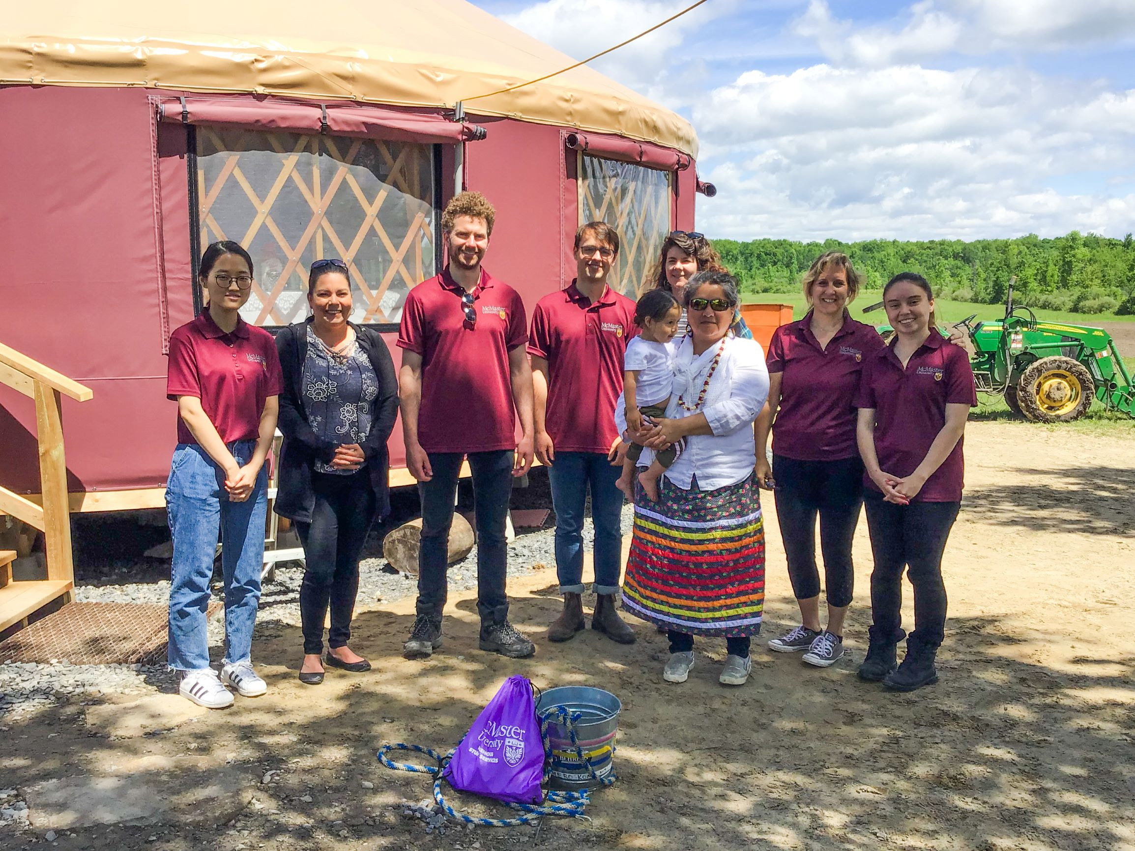 Engineering students attend experiential weekend on the Akwesasne reserve