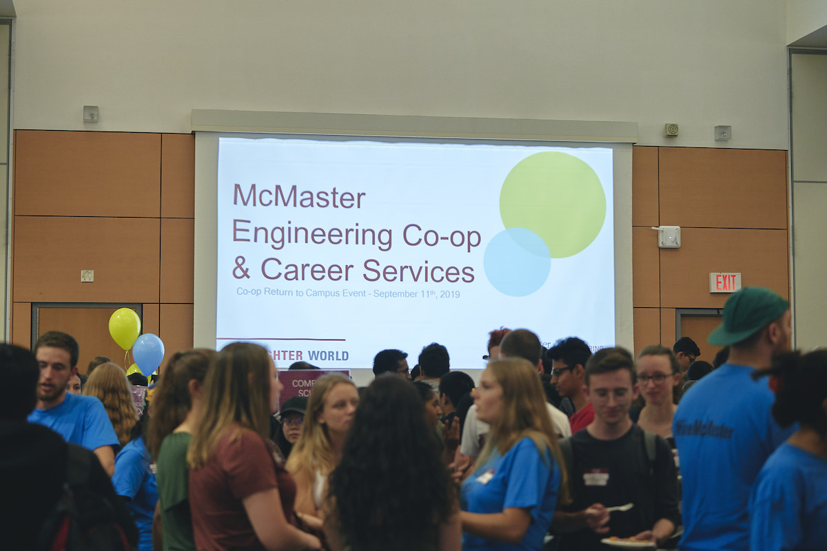 On the Job: Students share co-op work experiences at Engineering Co-op & Career Services event