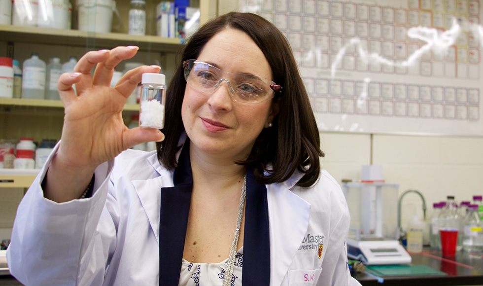 Engineering professor and Canada Research Chair Emily Cranston explores exciting possibilities for nanocellulose