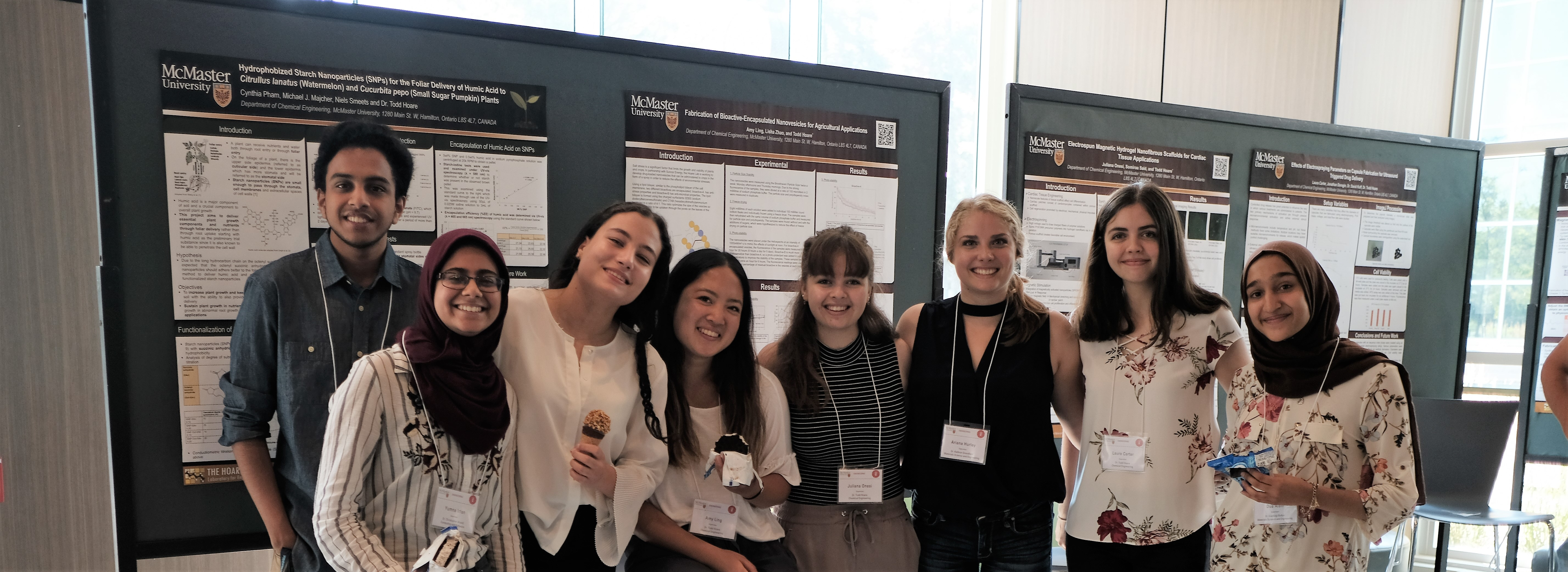 iBioMed Presents at the USRE Poster Showcase
