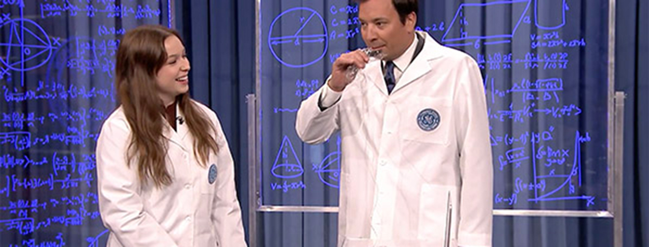 Emma Mogus appeared on Jimmy Fallon!