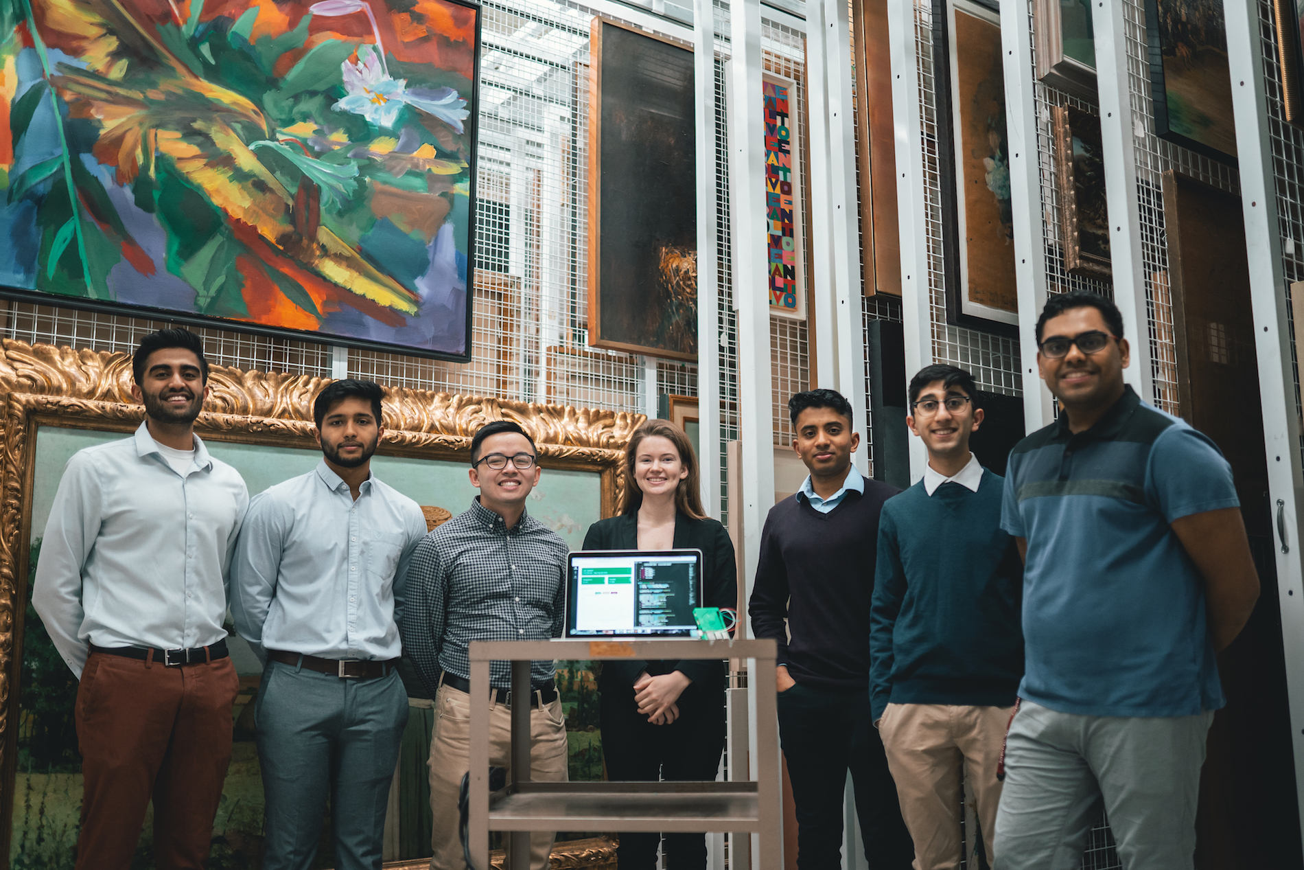 Software and Mechatronics students create device for farmers and the museum world