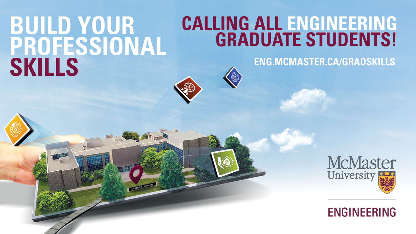 Graduate Students: Build your professional skills for free