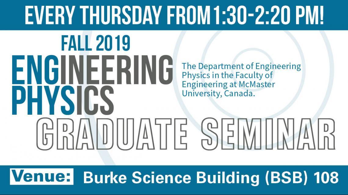 Graduate Seminars, Fall 2019