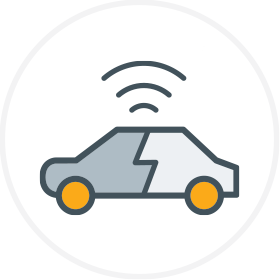 Electrified & Autonomous Transportation Logo