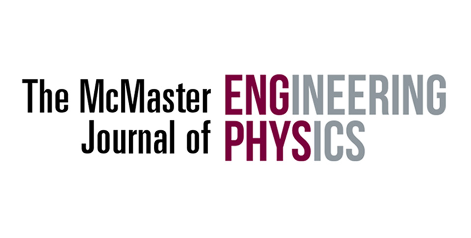 McMaster Journal of Engineering Physics Volume 2!