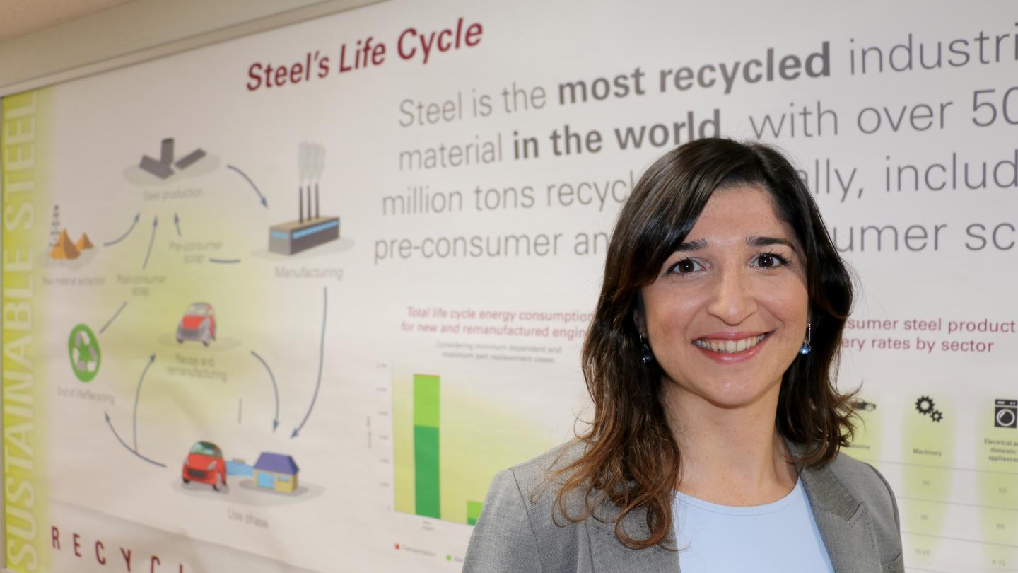 Meet our steel researchers