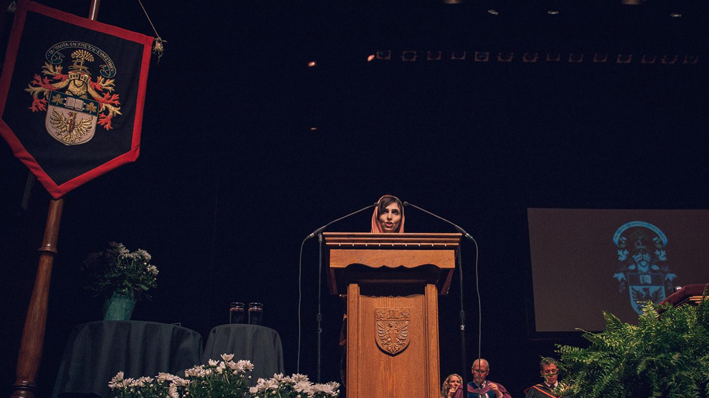 Read Honorary Degree recipient Roya Mahboob\'s speech
