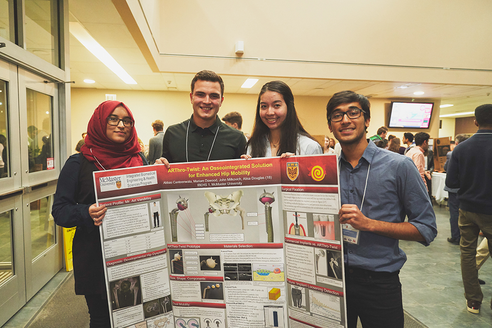 First year iBioMed students tackle real world design challenges