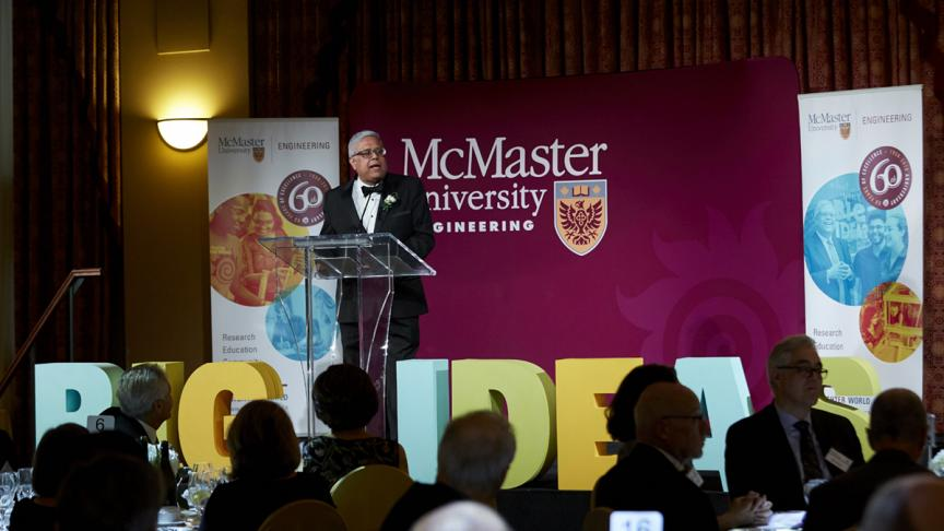 McMaster Engineering celebrates 'Big Ideas' at 60th Anniversary Celebration