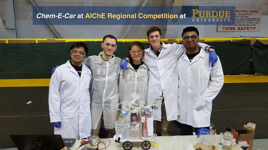 Chem-E-Car Goes to AlChE Regional Competition