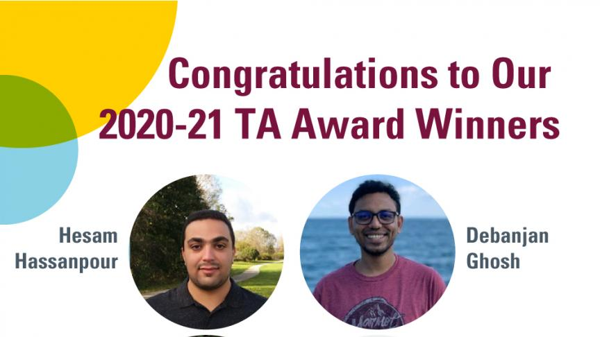 2020-21 TA Award Winners