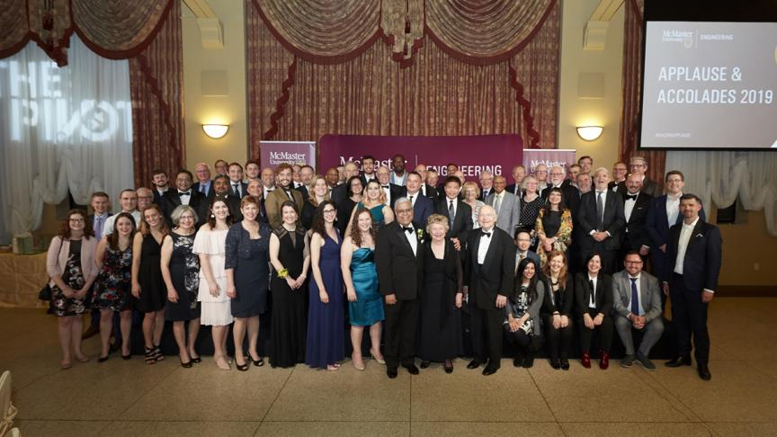 Applause and Accolades celebrates McMaster Engineering excellence