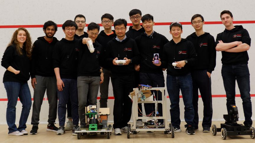 Mac RoboMasters to compete in Robotics Competition in Shenzhen, China