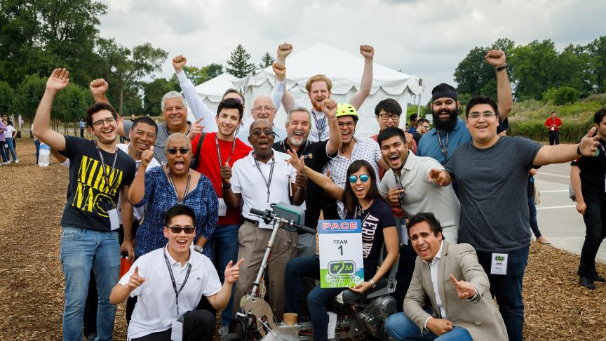 International student team wins prestigious automotive engineering design award