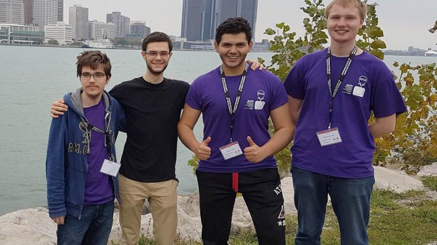 McMaster students excel in programming competition
