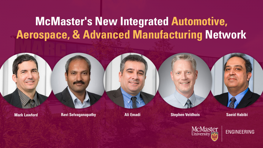Federal Government invests in McMaster automotive and aerospace electrification hub