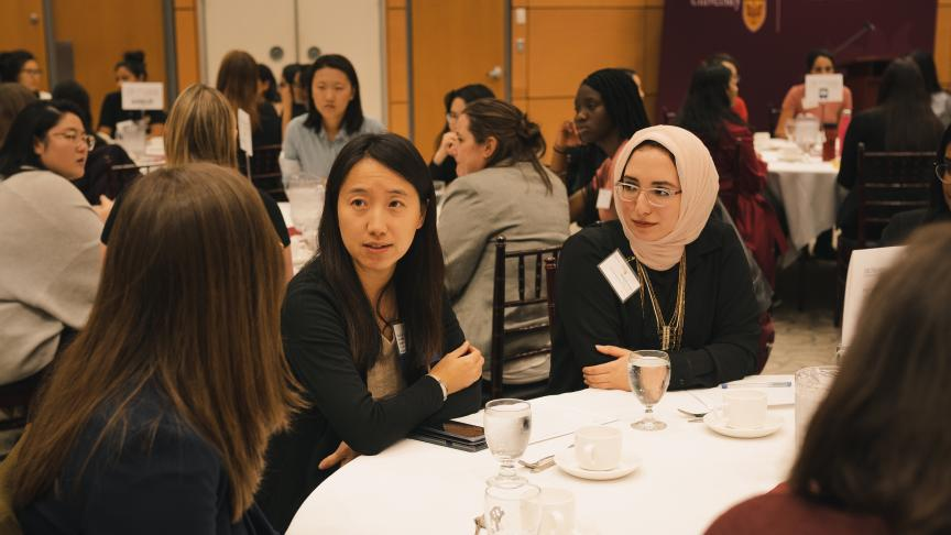 Students get an edge at Women in Engineering Industry Night