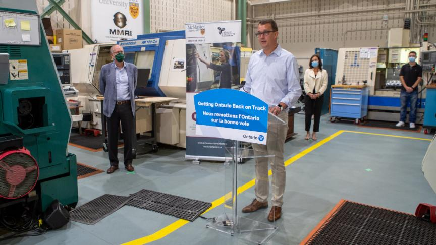 McMaster Engineering receives $1.3 million to support job seekers in the automotive and manufacturing sectors