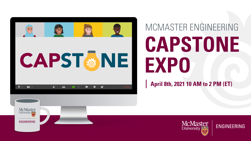 McMaster Engineering to host capstone expo featuring more than 200 student projects