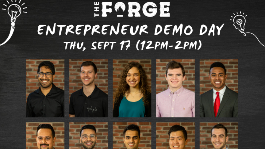The Forge Entrepreneur Demo Day features 8 Mac Eng startups