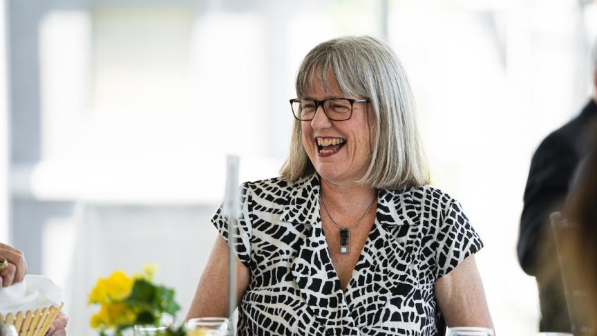 Alumna Donna Strickland reflects on engineering physics, McMaster and the whirlwind of winning a nobel prize