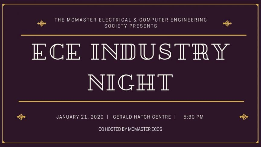 Electrical & Computing Engineering Industry Night