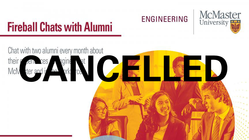 Fireball Chats with Alumni - February 2019 - CANCELLED