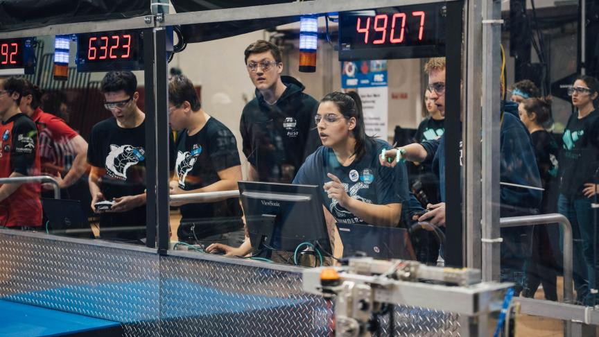 Six out of this world FIRST Robotics experiences at McMaster University