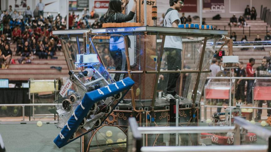 McMaster hosts its inaugural FIRST Robotics Competition