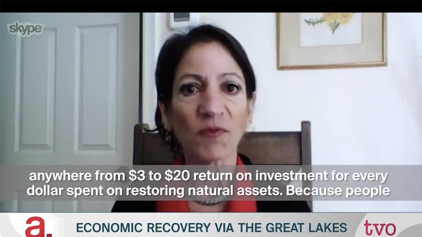 In the Media: Economic Recovery Via the Great Lakes