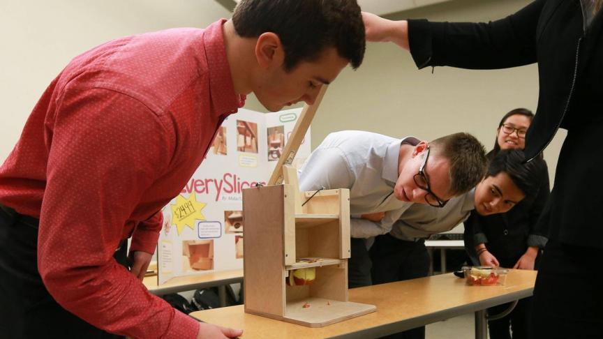 McMaster engineering students help make life easier at nursing home