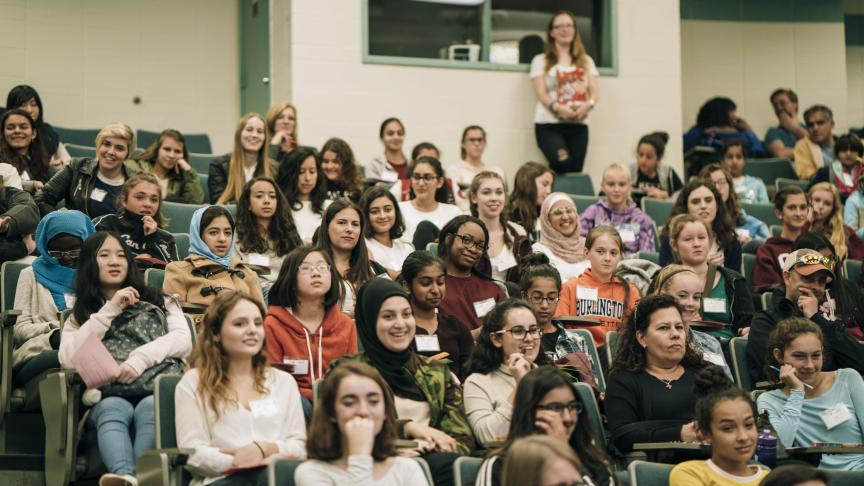Go CODE Girl returns to McMaster to inspire young girls