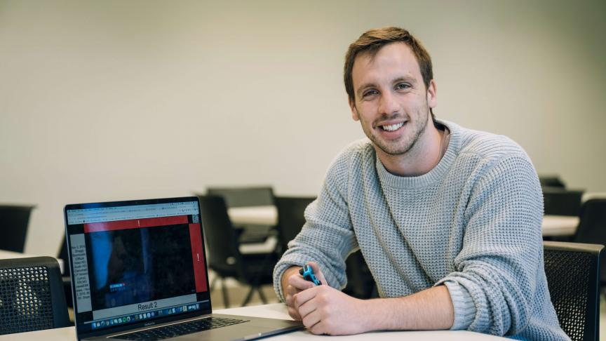 Computing and software graduate creates technology to make web more accessible for blind users