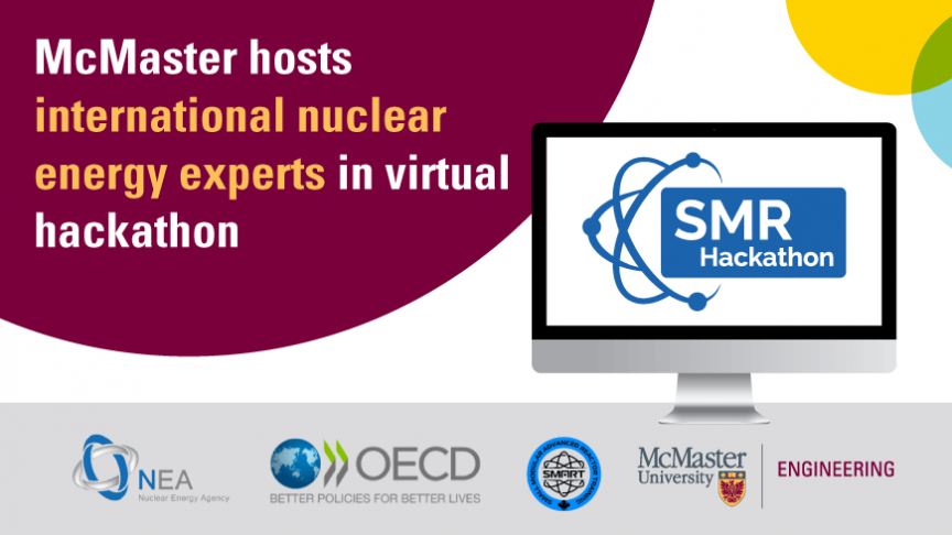 McMaster hosts international nuclear energy experts in virtual hackathon