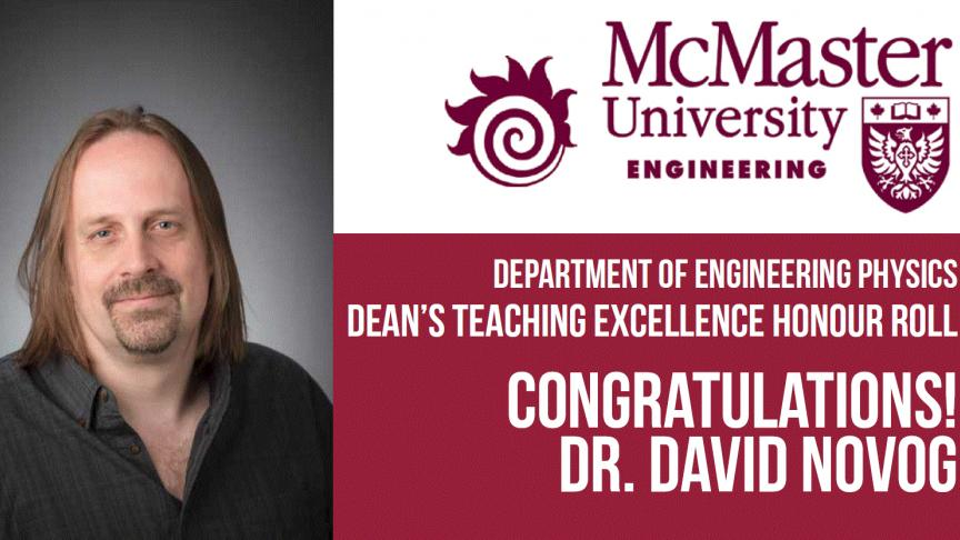 Dean's Teaching Excellence Honour Roll
