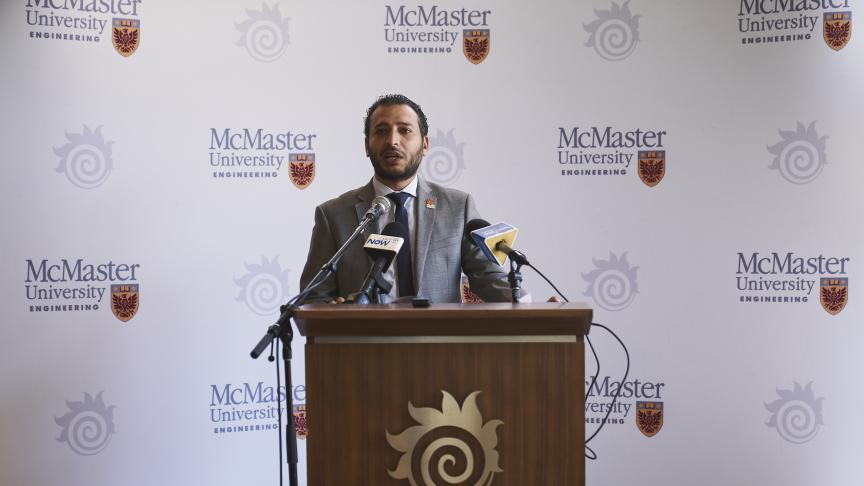 Dr. Mohamed working with the City of Hamilton and HSR to 'ReEnvision Hamilton Transit'