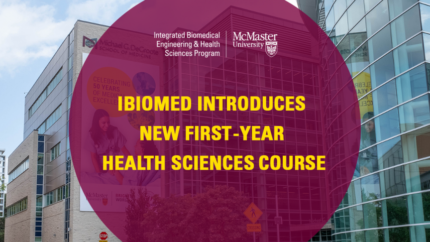 iBioMed's first year cell bio course helps students think bigger about the molecular world