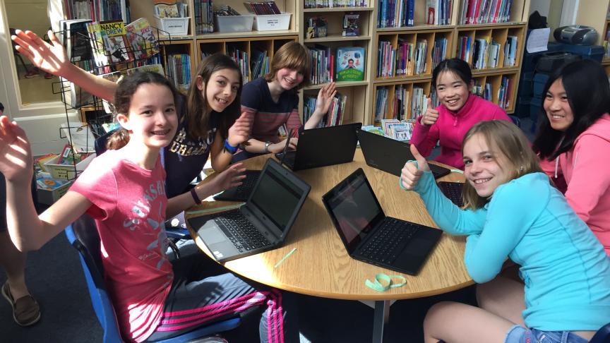 Inspiring kids to code