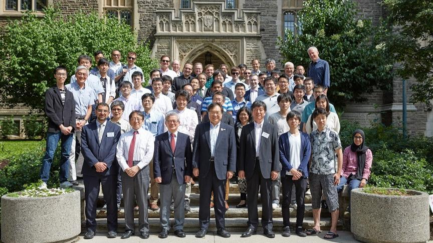 McMaster attends first joint workshop in collaboration with University of Toronto and University of Tokyo