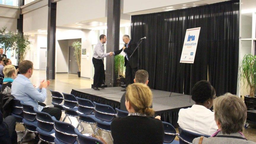 Innovation Night Success for Eng Phys Alumni, Erinn van Wynsberghe