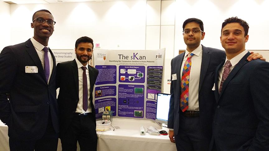 New health technology from McMaster Engineering grads jumps to next round of James Dyson Award