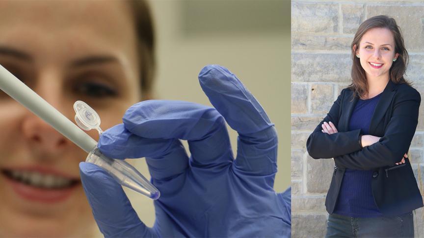 Karina Kawka receives 2021 Student Fellowship Award for her work on purifying therapeutic viruses