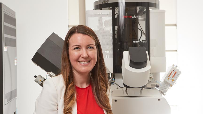 Kathryn Grandfield wins prestigious Human Frontier Science Program grant