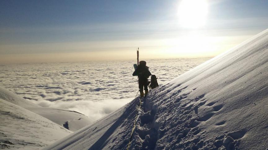 McMaster researcher experiences a change of altitude