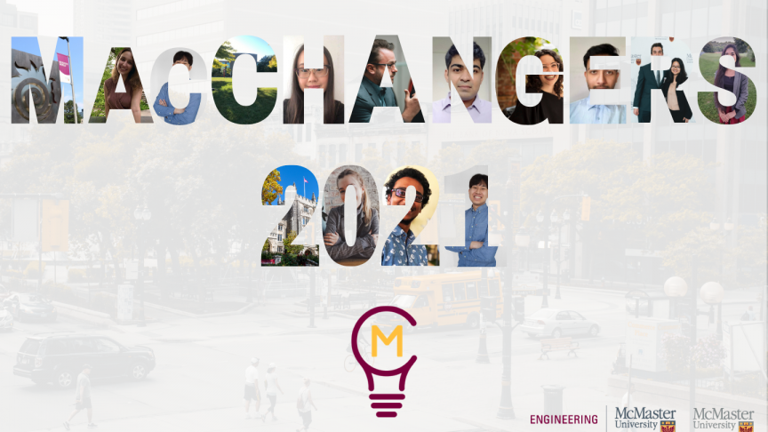 MacChangers students showcase COVID-19 community solutions at showcase event