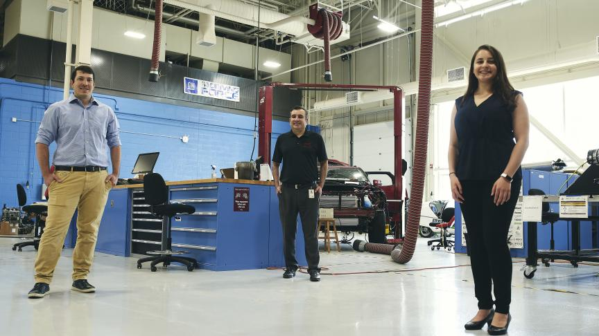 """It's great to be back:"" Researchers return to the McMaster Automotive Resource Centre"