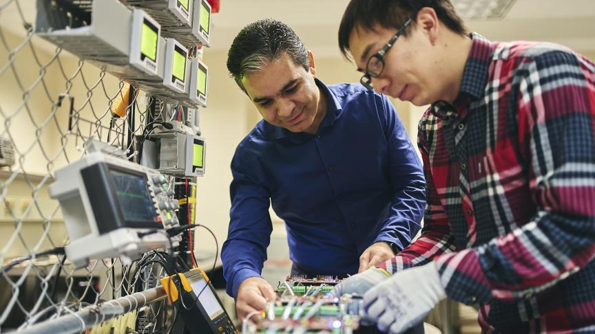 Electrical & Computer Engineering professor seeks solutions to energy challenges